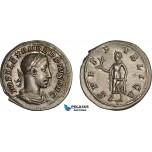 AC016, Roman Empire, Severus Alexander (AD 222-235) AR Denarius (2.86g) Rome, AD 232, Spes