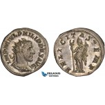 AC019, Roman Empire, Philip I Arab (AD 244-249) BL Antoninian (3.81g) Rome, AD 247-249, Felicitas