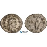 AC023, Roman Empire, Philip II (AD 247-249) BL Antoninian (3.09g) Rome, AD 248, Pax