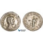 AC026, Roman Empire, Herennia Etruscilla (AD 249-251) BL Antoninian (3.18g) Rome, AD 250, Fecunditas