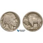 AC125, United States, Buffalo Nickel (5C) 1915-S, San Francisco, aVF
