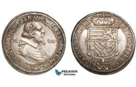 AC135, Austria, Archduke Ferdinand, Taler 1620, Hall, Silver (28.39g) Toned VF-XF