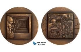 AC163, Finland, Bronze Medal 1974 (Ø59.4mm, 125g) by Rasanen, Leonardo da Vinci