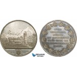 AC190, Switzerland, Tin Medal 1861 (Ø55mm, 64g) by Siber, Glarus destroyed by fire
