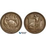 AC192, United States, Bronze Medal 1915 (Ø38mm, 26g)  Panama Pacific International Exposition, San Francisco