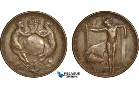 AC192, United States, Bronze Medal 1915 (Ø38mm, 26g)  Panama Pacific International Exposition, San Francisco