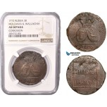 AC423, Russia, Moldavia & Wallachia, 2 Para/3 Kopeks 1772, Copper (from Turkish canons) NGC AU Det.