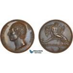 AC519, Germany& Great Britain, Bronze Medal 1825 (Ø39.5mm, 34.9g) by Kruger, Carl Maria von Weber