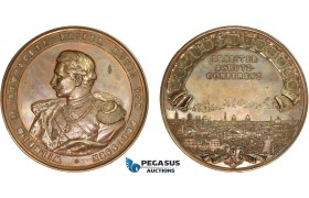 AC520, Germany, Prussia, Bronze Medal 1890 (Ø85mm, 289.5g) by Lauer, Berlin Workers' Conference