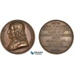 AC523, Poland, Bronze Medal 1818 (Ø41mm, 40.1g) by Petit, Nicolaus Copernicus