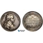 AC525, Sweden, Silver Medal 1800 (Ø49.5mm, 58.5g) by Enhorning, Samuel Gustaf Hermelin