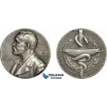 AC531, Sweden, Silver Medal 1978 (Ø26.6g, 13.0g) Alfred Nobel, Swedish Medical Society