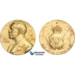 AC532, Sweden, Silver Gilt Medal 1980 (Ø26.5mm, 12g) Alfred Nobel, Committee for Physics