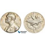 AC534, Sweden, Silver Medal 1985 (Ø26.6mm, 13.0g) Alfred Nobel, Swedish Medical Society