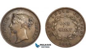 AC785, Straits Settlements, Victoria, 1 Cent 1845
