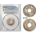 AD005, British East Africa, George V, 1 Cent 1916-H, Heaton, PCGS MS67