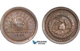 AD242, Argentina, Buenos Aires, 10 Decimo 1827, VF-XF