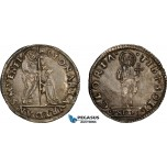 AD275, Italy, Venice, Leonardo Loredano, Mocenigo ND (1501-21) Silver (6.48g) ST-F, Toned XF