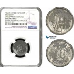 AD279, Japan, Occupation Coinage, 10 Sen NE2604 (1944) NGC UNC Det.