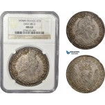 AD371, France, Louis XIV, Ecu 1694-M, Toulouse, Silver, NGC MS63, Pop 1/0