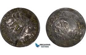 AE048, Montserrat, British Colony, 1 1/2 Pence 1789, Some corrosion, F-VF, Rare!