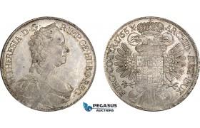 AE348, Austria, Maria Theresia, Taler 1765, Vienna, Silver (28.13g) Lustrous, Minor Adjustment marks, XF-UNC