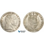 AE038, Italy, Lombardy, Franz II, 30 Soldi 1794, Milan, Silver (7.33g) Min. cleaned XF-AU