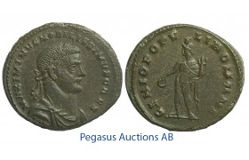 C54, Roman Empire, Maximinus II (305/310-313 AD) Æ Follis (10.28g) London, Struck 305-07, Genius