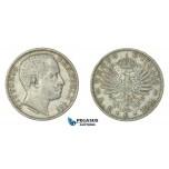 F60, Italy, Vittorio Emanuelle III, 2 Lire 1906-R, Nice, some lustre left!