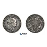 G64, Germany, Prussia, Fr. Wilhelm IV, Double Vereinsthaler 1859-A, Berlin, Silver, Rare!