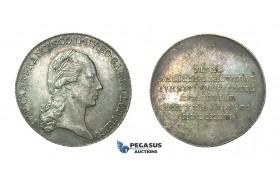 H36, Austria, Francisc II, Jeton of 20 Kreuzer 1796, Cracow, Poland, Silver (4.29g) Ø25mm