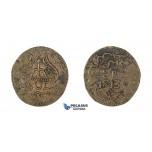 H45, Mexico, Oaxaca, Revolutionary, 8 Reales 1813, Copper, KM# 234