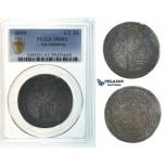 I33, Austria, Salzburg, Johann Ernst, 1/2 Taler 1694, Silver, PCGS MS63
