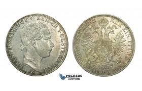 J40, Austria, Franz Joseph, Vereinsthaler 1865-E (Karlsburg) Silver, Very Nice!
