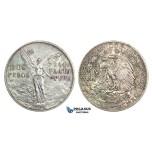 J54, Mexico, Peso 1921, Silver, Very Nice!