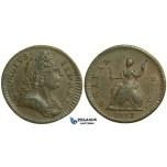 K45, Great Britain, George III, Farthing 1773, EF