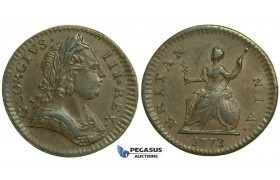 K45, Great Britain, George III, Farthing 1773, EF