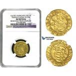 M30, Transylvania, Gabriel Bathori, Ducat 1610 C-V, Klausenburg, Gold (3.53g) Rare! NGC AU Det.