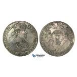 O151, Poland (for Danzig) Ladislav IV, Taler 1640 G-R, Danzig, Silver (28.32g)