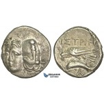 O38, Thrace (Moesia Inferior) Istros (ap. 400-350 BC) AR Stater (5.09g) Well centered!