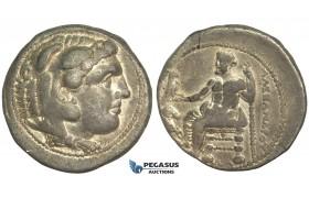 O39, Macedonian Kingdom, Alexander III (336-323 BC) AR Tetradrachm (16.94g) Damascus