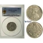 R116, Canada, George V, 25 Cents 1929, Silver, PCGS AU55