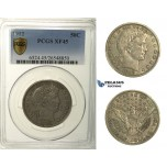 R172, United States, Barber 50 Cents (Half Dollar) 1912, Silver, PCGS XF45