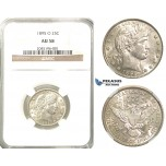 R232, United States, Barber Quarter (25C.) 1895-O, New Orleans, Silver, NGC AU58