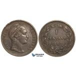 R362, Venezuela, 1 Centavo 1862, Nice details!