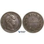 R363, Venezuela, 1 Centavo 1862, Nice (Few contact marks on Rev.)