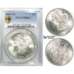 R539, United States, Morgan Dollar 1884-CC, Carson City, Silver, PCGS MS64+