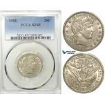 R553, United States, Barber Quarter (25C) 1902, Silver, PCGS XF45