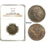 R588, United States, Barber Quarter (25C) 1892, Philadelphia, Silver, NGC AU50