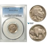 R636, United States, Buffalo Nickel (5C) 1914-D, Denver, PCGS VF20